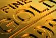 Gold rises high
