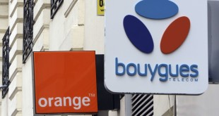 European shares down led by French telecoms